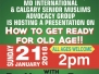 PCA Monthly Seniors Event in January 2018