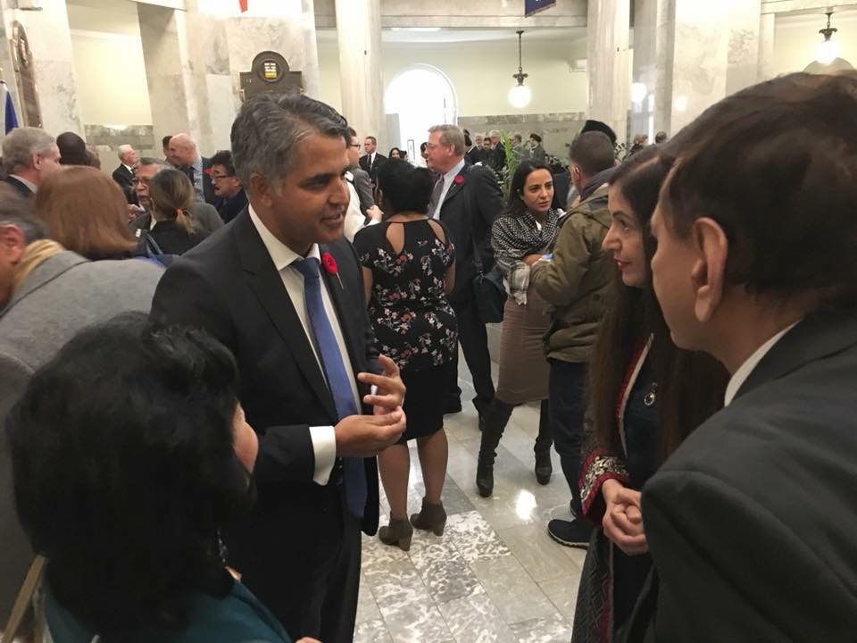 PCA's Participation in Eid-Ul-Adha Celebration at the Alberta Legislature on November 6, 2017