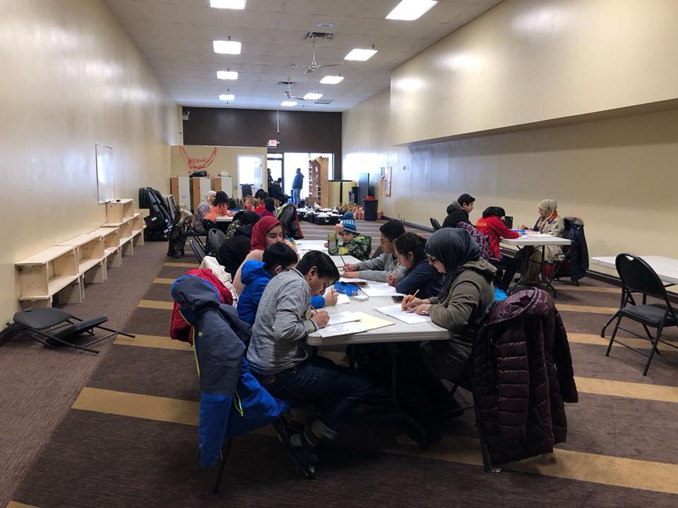 PCA NW Campus Weekly Urdu Class in February 2018