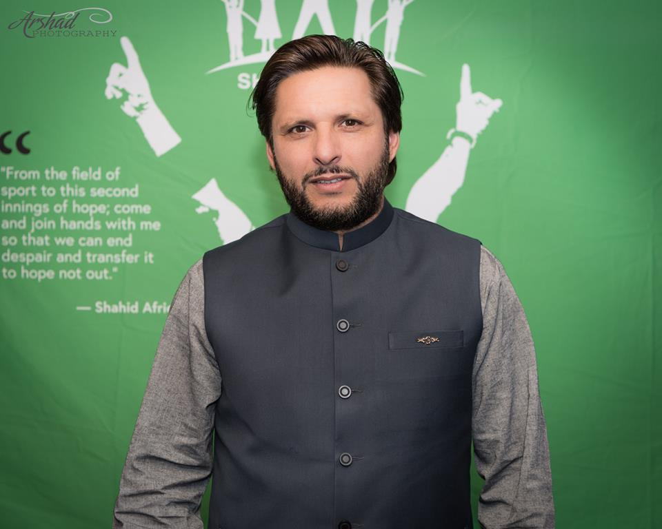 Shahid Afridi in Calgary! Thank you everyone! – April 27, 2018