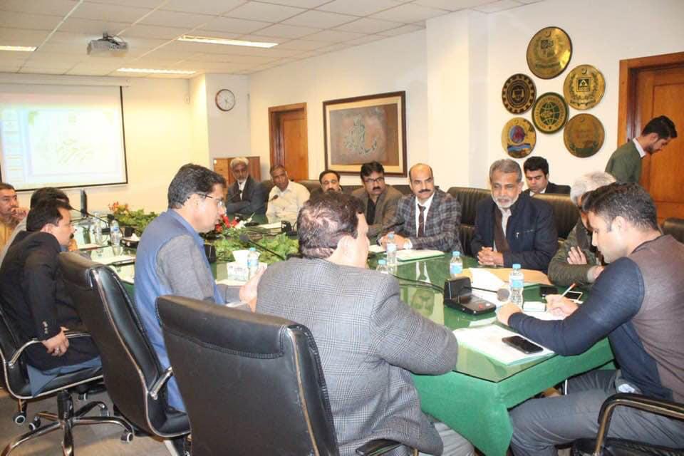 PCA's Meeting with Zulfi Bukhari in Pakistan! January 15, 2019
