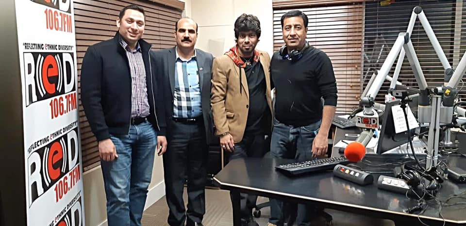 PCA on Sajjad Mirza Sb's RedFM Show! March 22, 2019