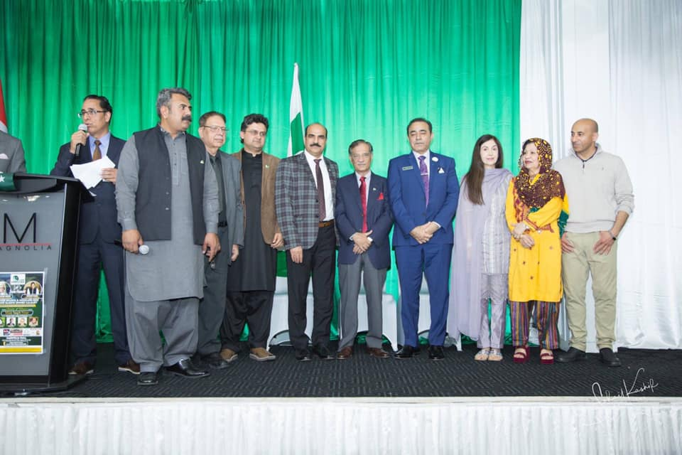 PCA Calgary Executives Personal Donation of $5000 to the Pakistan Dam Fund! March 30, 2019
