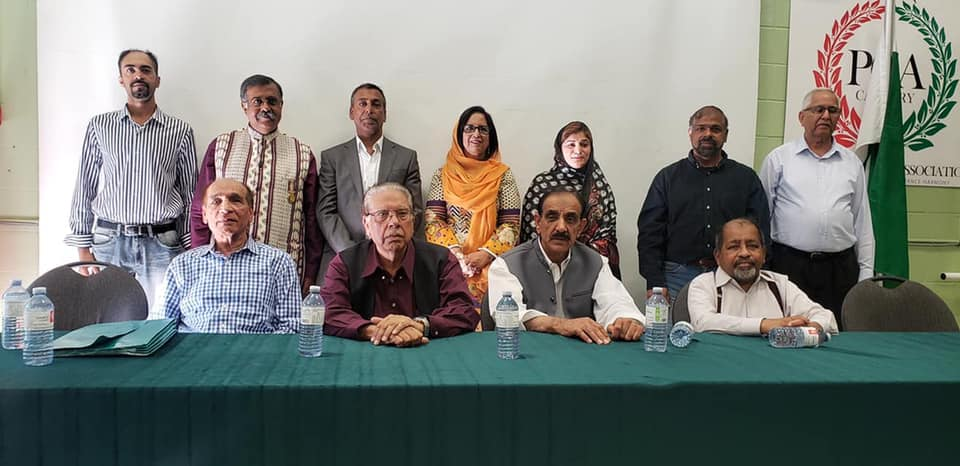 Pakistan Canada Association Elections 2019