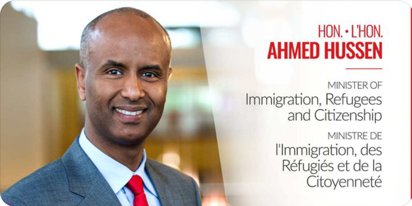 PCA Presents and Open House with Honorable Minister Immigration Refugee & Citizenship Mr Ahmed Hussen